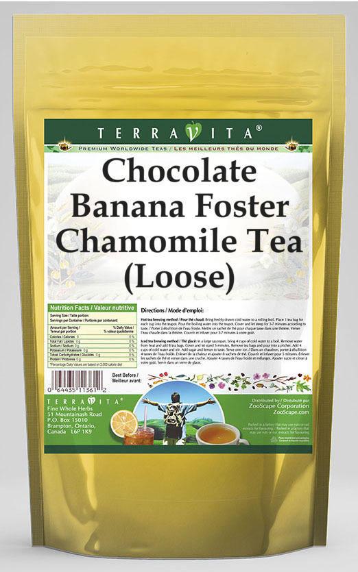 Chocolate Banana Foster Chamomile Tea (Loose)