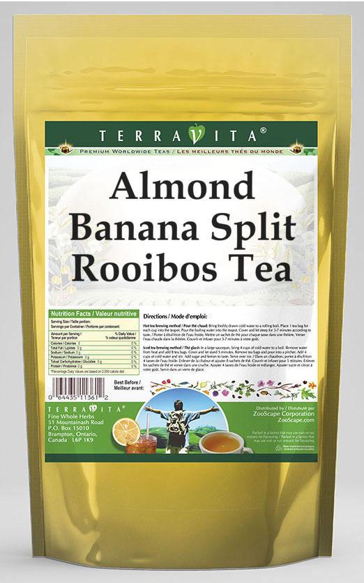 Almond Banana Split Rooibos Tea