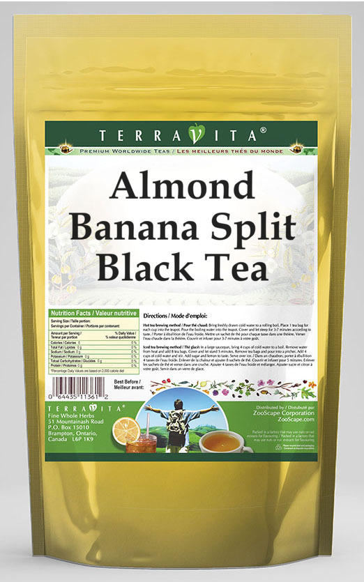 Almond Banana Split Black Tea