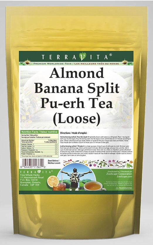 Almond Banana Split Pu-erh Tea (Loose)