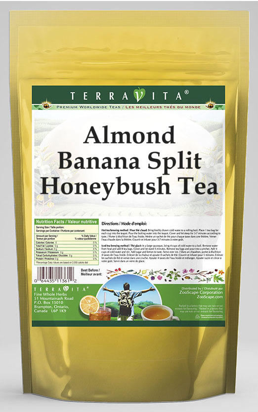 Almond Banana Split Honeybush Tea