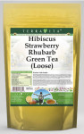 Hibiscus Strawberry Rhubarb Green Tea (Loose)