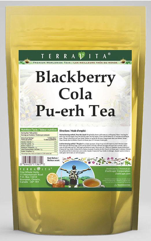 Blackberry Cola Pu-erh Tea