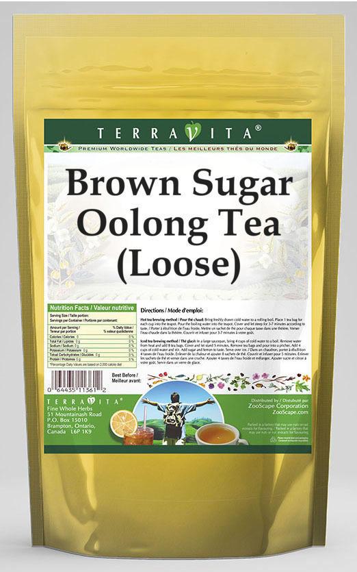Brown Sugar Oolong Tea (Loose)