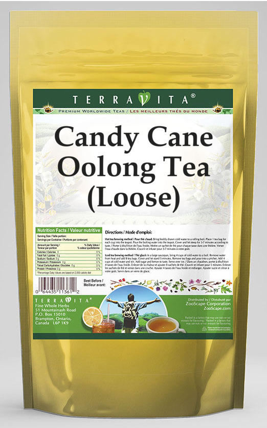 Candy Cane Oolong Tea (Loose)