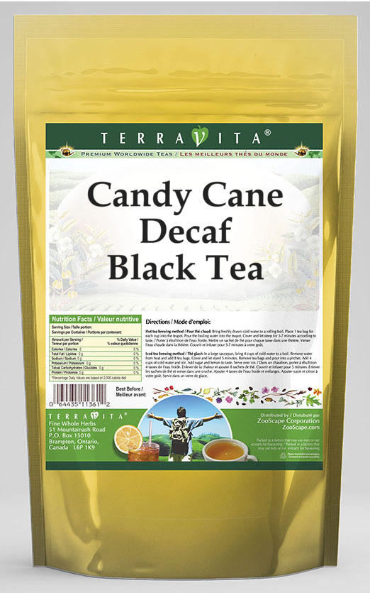 Candy Cane Decaf Black Tea