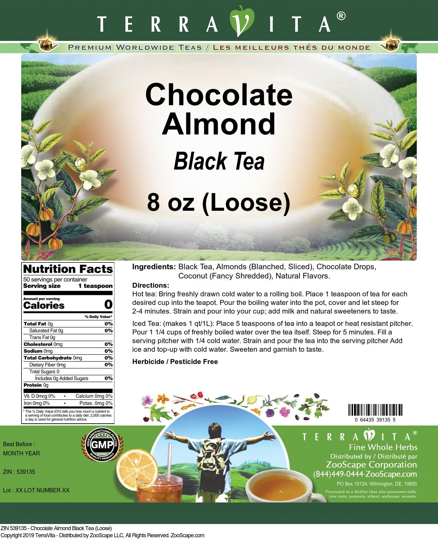 Chocolate Almond Black Tea