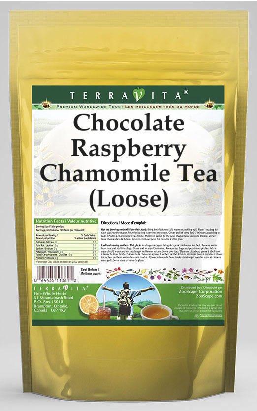 Chocolate Raspberry Chamomile Tea (Loose)