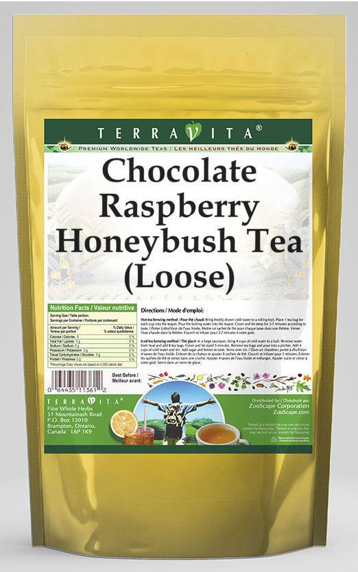 Chocolate Raspberry Honeybush Tea (Loose)