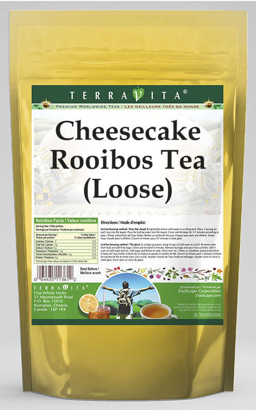 Cheesecake Rooibos Tea (Loose)