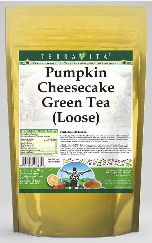 Pumpkin Cheesecake Green Tea (Loose)