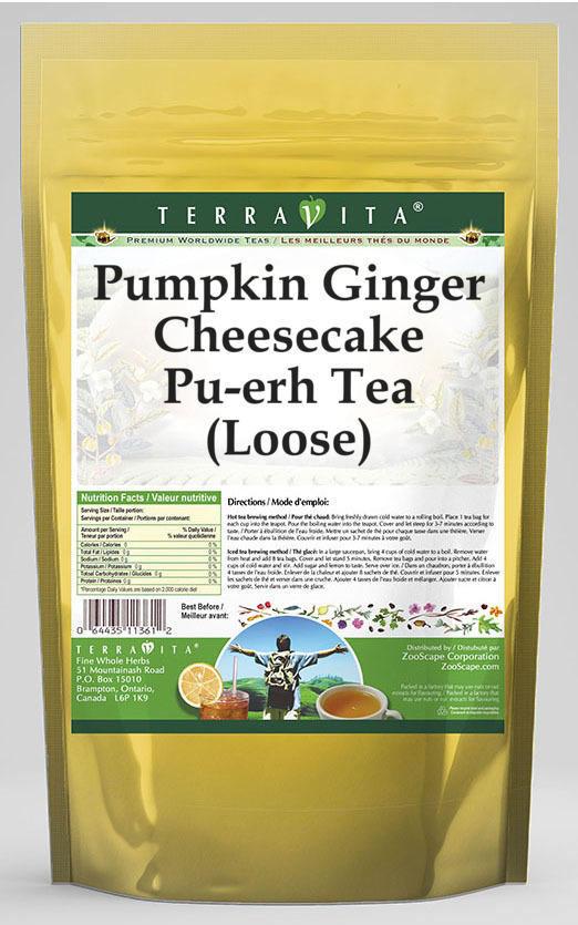 Pumpkin Ginger Cheesecake Pu-erh Tea (Loose)