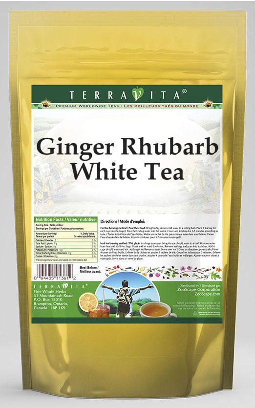 Ginger Rhubarb White Tea