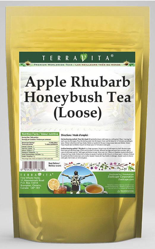 Apple Rhubarb Honeybush Tea (Loose)