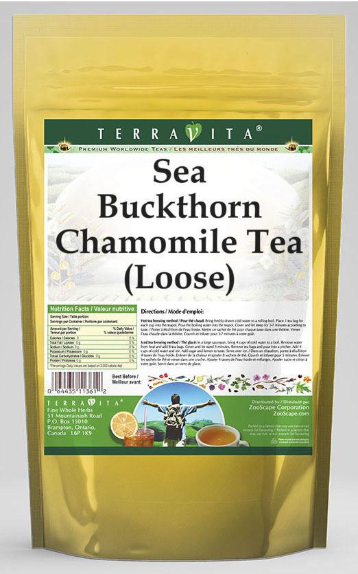 Sea Buckthorn Chamomile Tea (Loose)