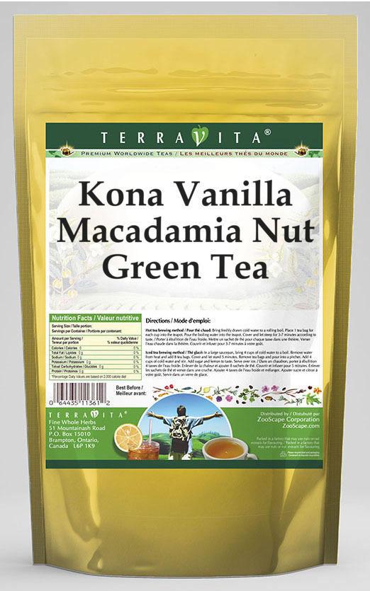 Kona Vanilla Macadamia Nut Green Tea