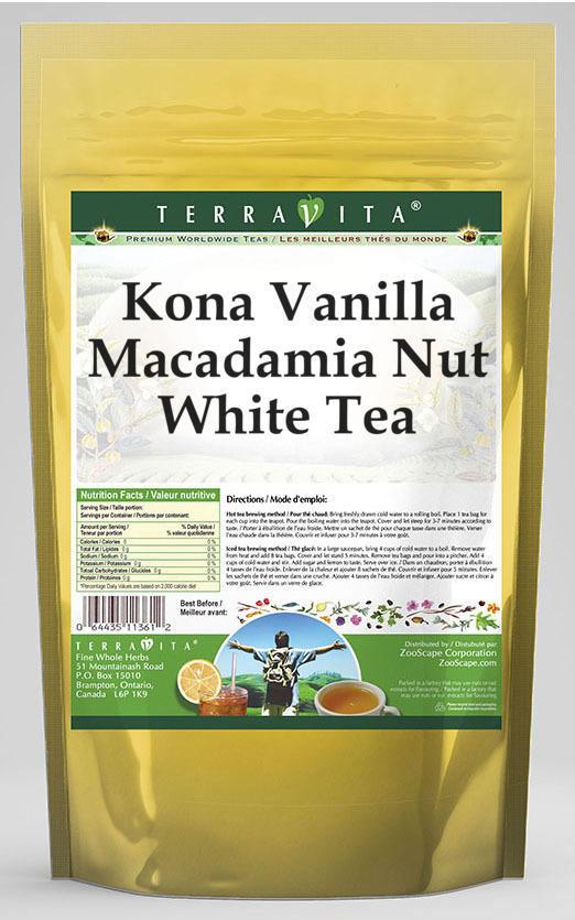 Kona Vanilla Macadamia Nut White Tea