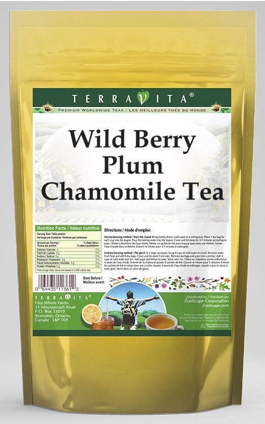 Wild Berry Plum Chamomile Tea