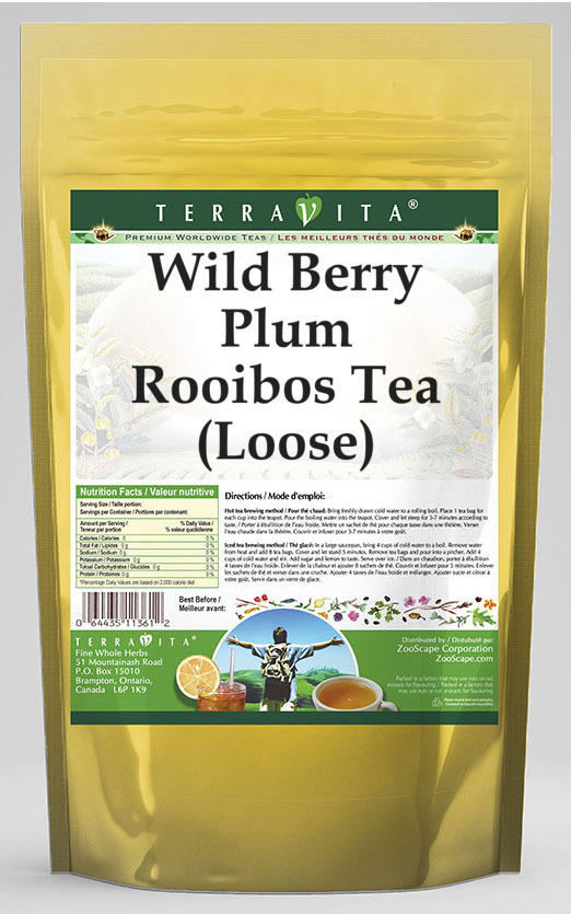 Wild Berry Plum Rooibos Tea (Loose)