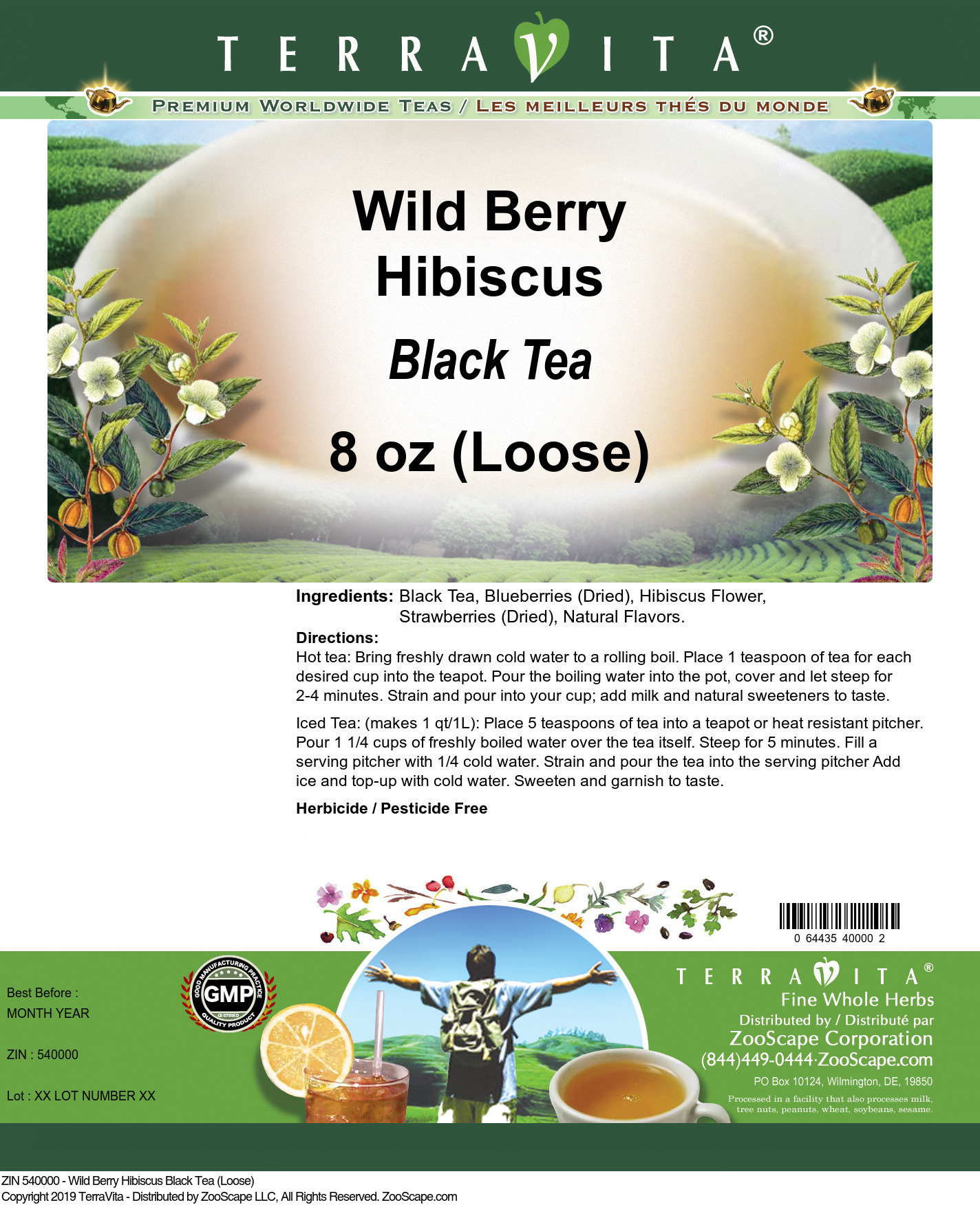 Wild Berry Hibiscus Black Tea