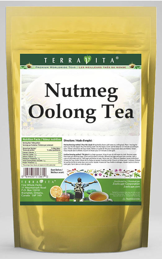 Nutmeg Oolong Tea
