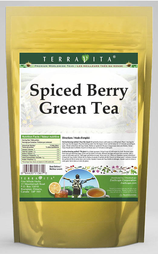 Spiced Berry Green Tea