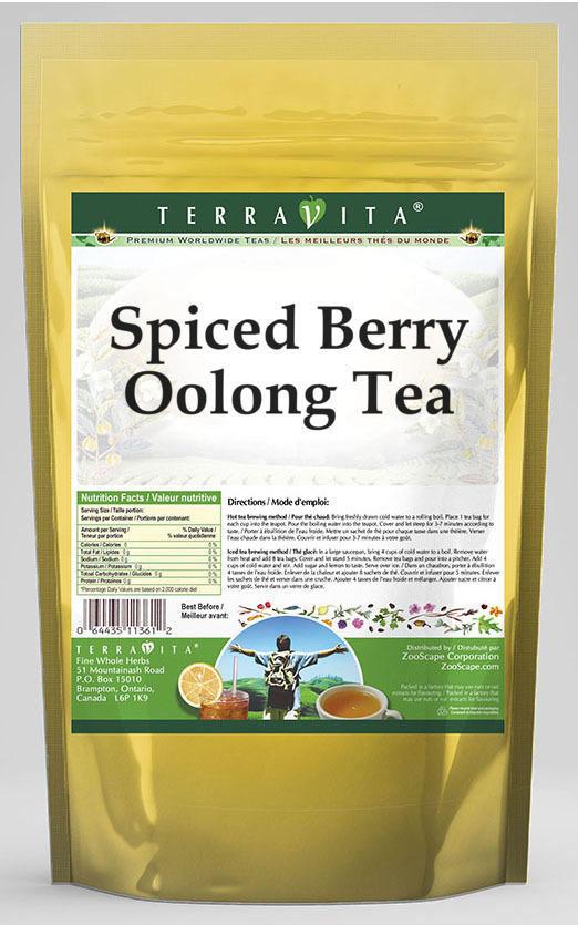 Spiced Berry Oolong Tea