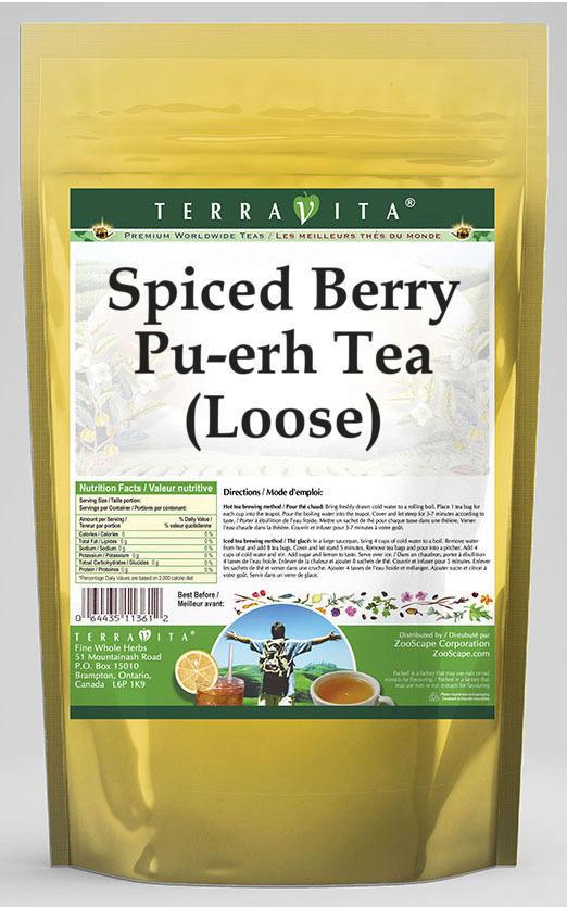 Spiced Berry Pu-erh Tea (Loose)