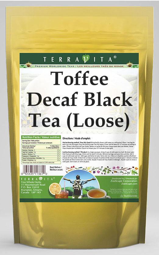 Toffee Decaf Black Tea (Loose)
