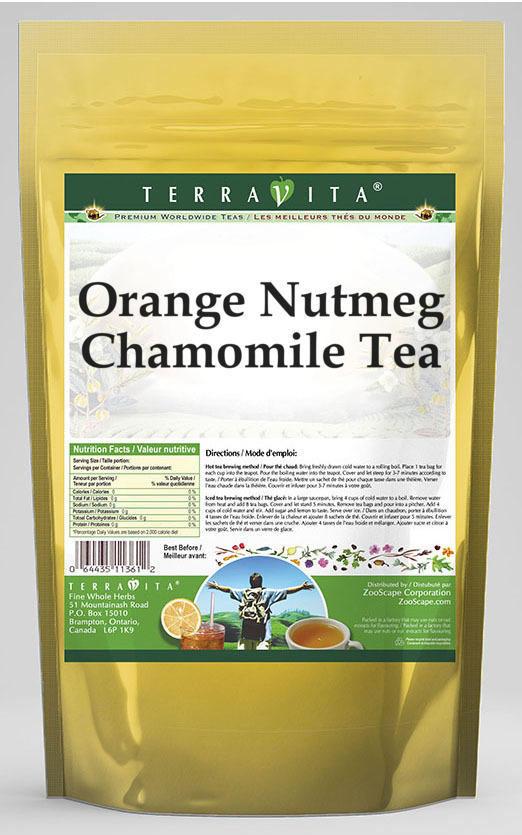 Orange Nutmeg Chamomile Tea
