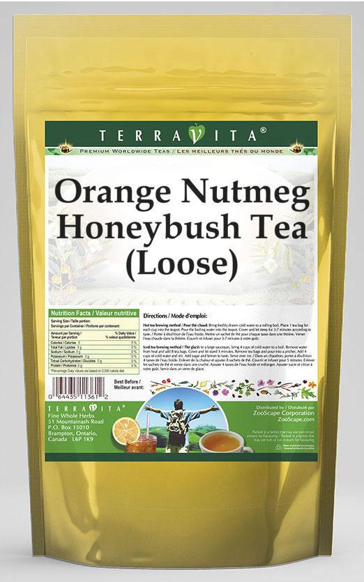 Orange Nutmeg Honeybush Tea (Loose)