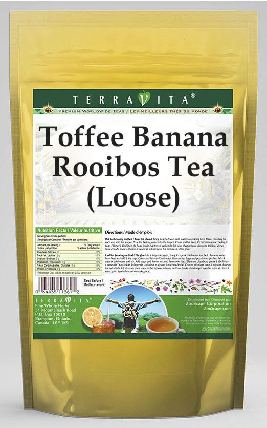 Toffee Banana Rooibos Tea (Loose)