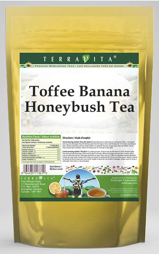 Toffee Banana Honeybush Tea