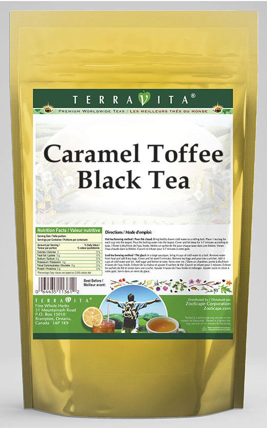 Caramel Toffee Black Tea
