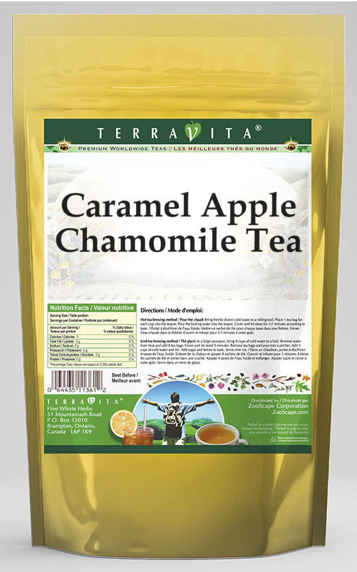 Caramel Apple Chamomile Tea