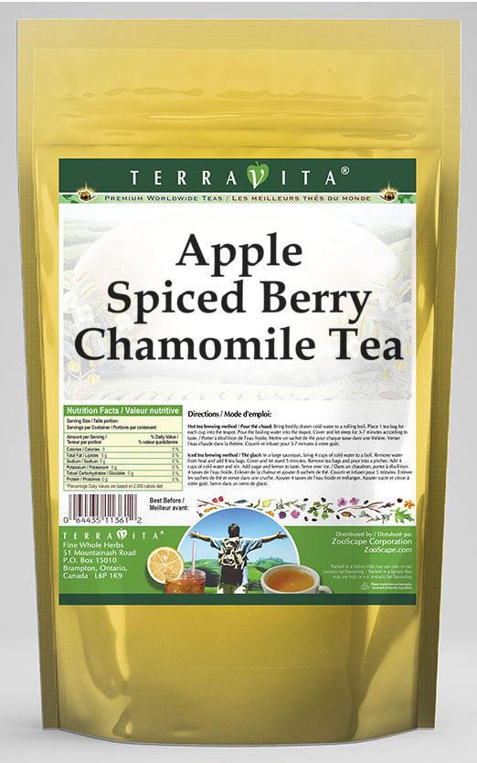 Apple Spiced Berry Chamomile Tea