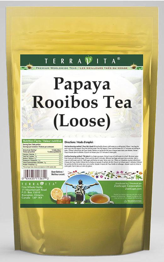 Papaya Rooibos Tea (Loose)