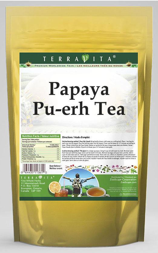 Papaya Pu-erh Tea