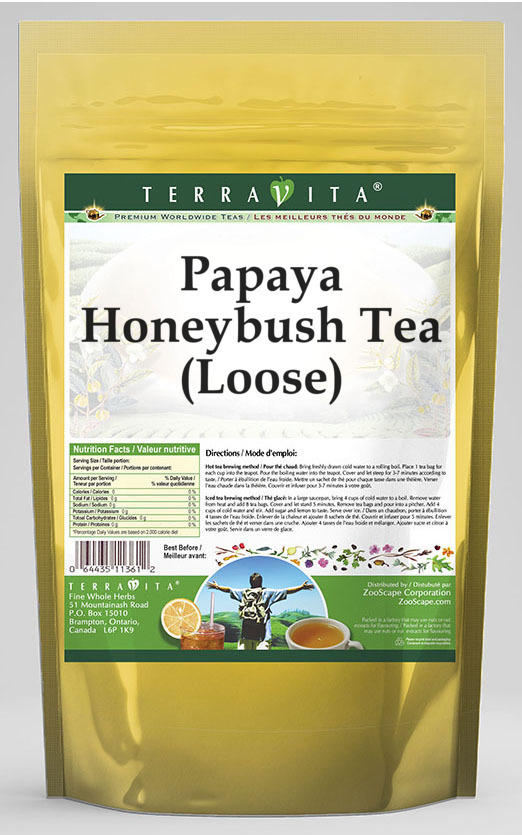 Papaya Honeybush Tea (Loose)