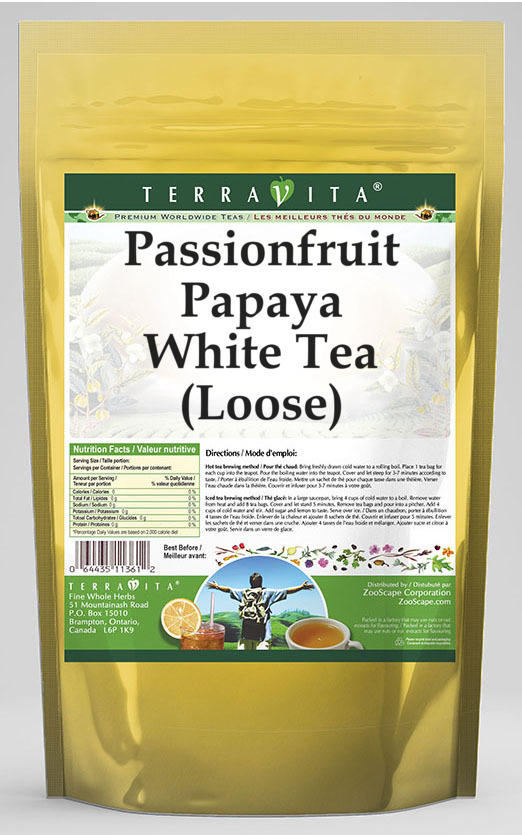Passionfruit Papaya White Tea (Loose)