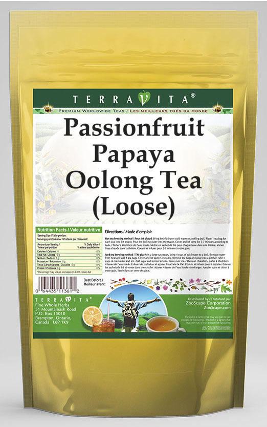 Passionfruit Papaya Oolong Tea (Loose)