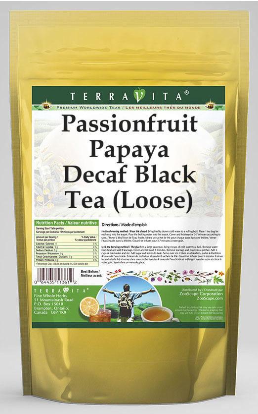 Passionfruit Papaya Decaf Black Tea (Loose)