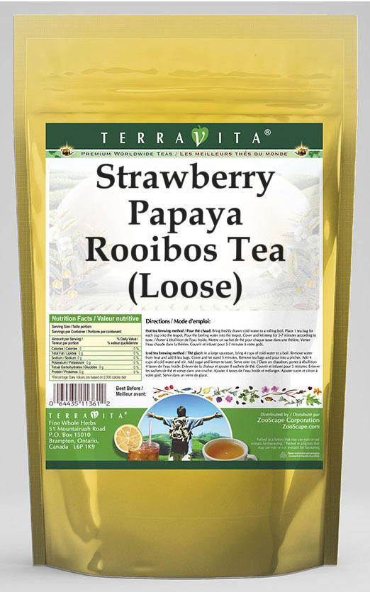 Strawberry Papaya Rooibos Tea (Loose)
