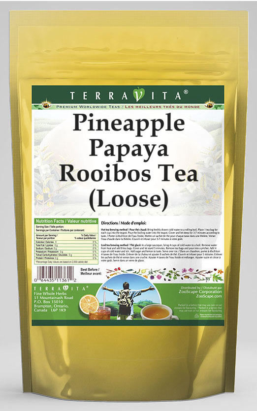 Pineapple Papaya Rooibos Tea (Loose)