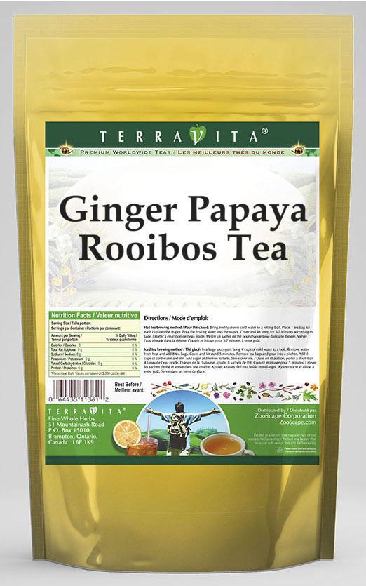 Ginger Papaya Rooibos Tea