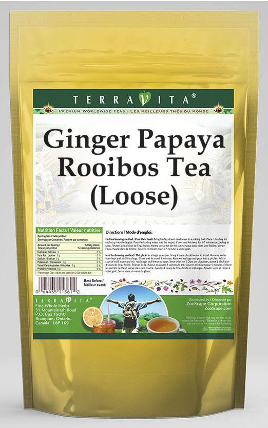 Ginger Papaya Rooibos Tea (Loose)