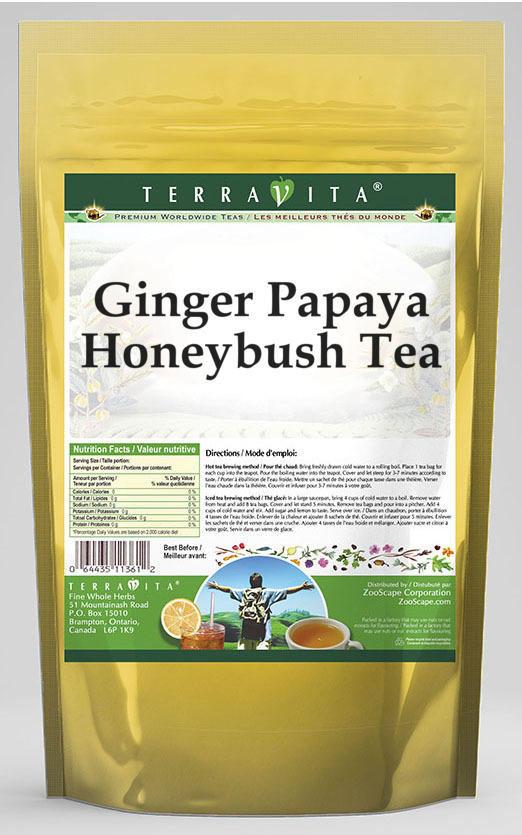 Ginger Papaya Honeybush Tea