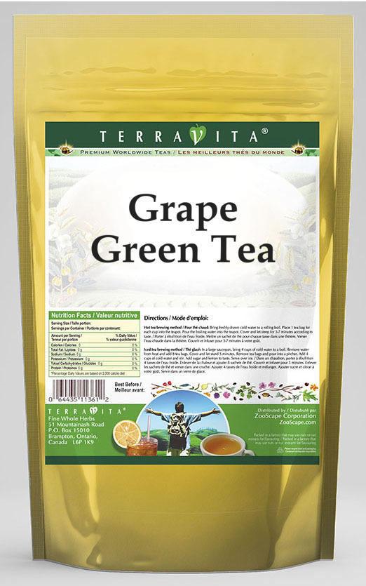 Grape Green Tea