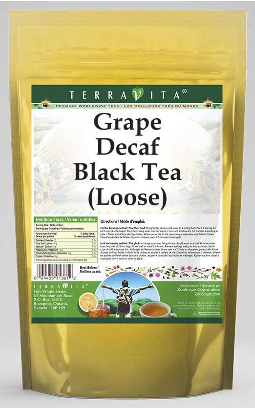 Grape Decaf Black Tea (Loose)