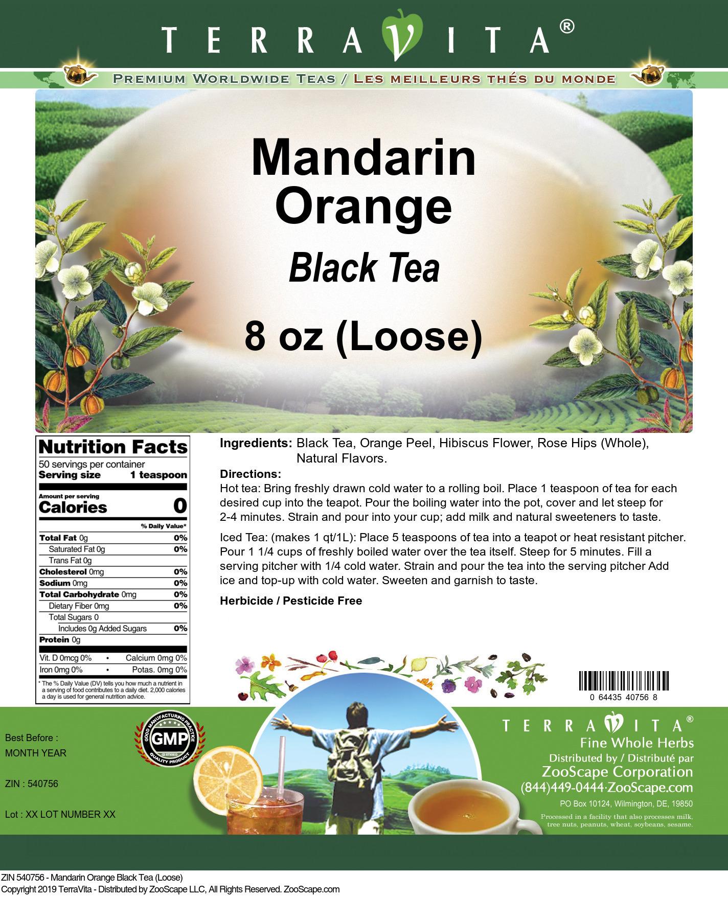 Mandarin Orange Black Tea